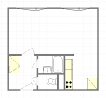 Prodej bytu 1+kk, 33 m2, ul. Bezručova, Slaný
